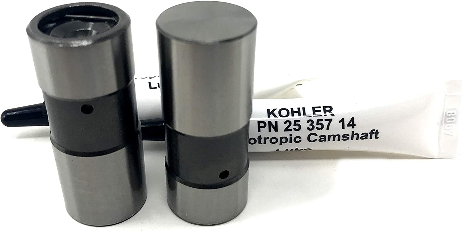 2 Pack Genuine Kohler 25-351-11-S Hydraulic Valve Lifter OEM