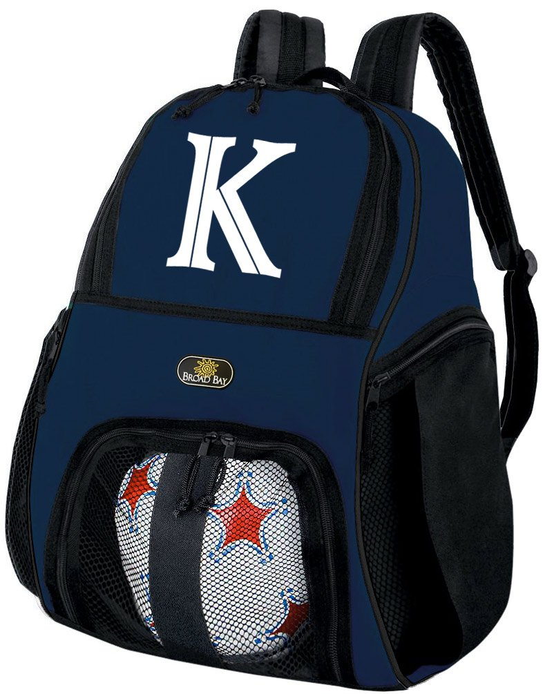 Broad Bay Personalized Soccer Backpack - Customized Soccer Bag Soccer Gifts