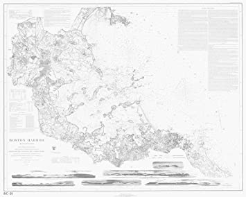 Amazoncom 18 x 24 Canvas 1857 US old nautical map drawing chart of