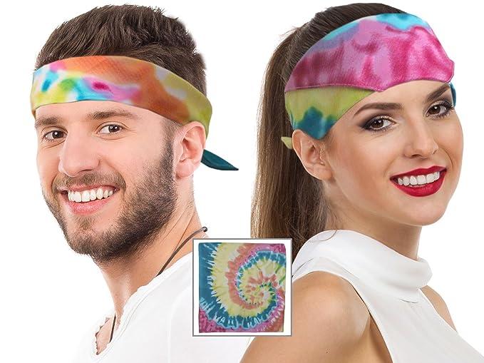1960s – 70s Hats, Wigs, Gloves, Scarf Tie Dye Bandana Head Bandana Hippie Bandana Tye Dye Bandana Tye Dye DogTie Die $9.99 AT vintagedancer.com