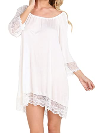 be0b746f3c Only Hearts Venice Night Dress Vintage White at Amazon Women s ...