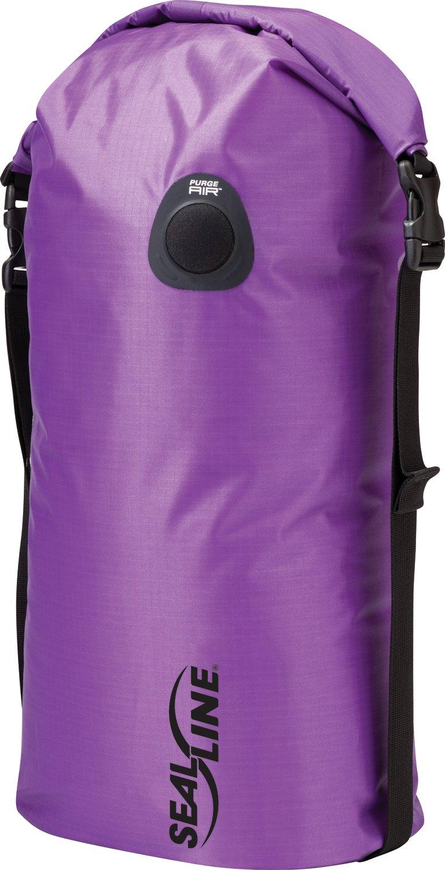 SealLine Compression Dry Bag, Purple, 20L