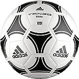 adidas Tango Glider - Balón de fútbol, color blanco / negro, tamaño 5