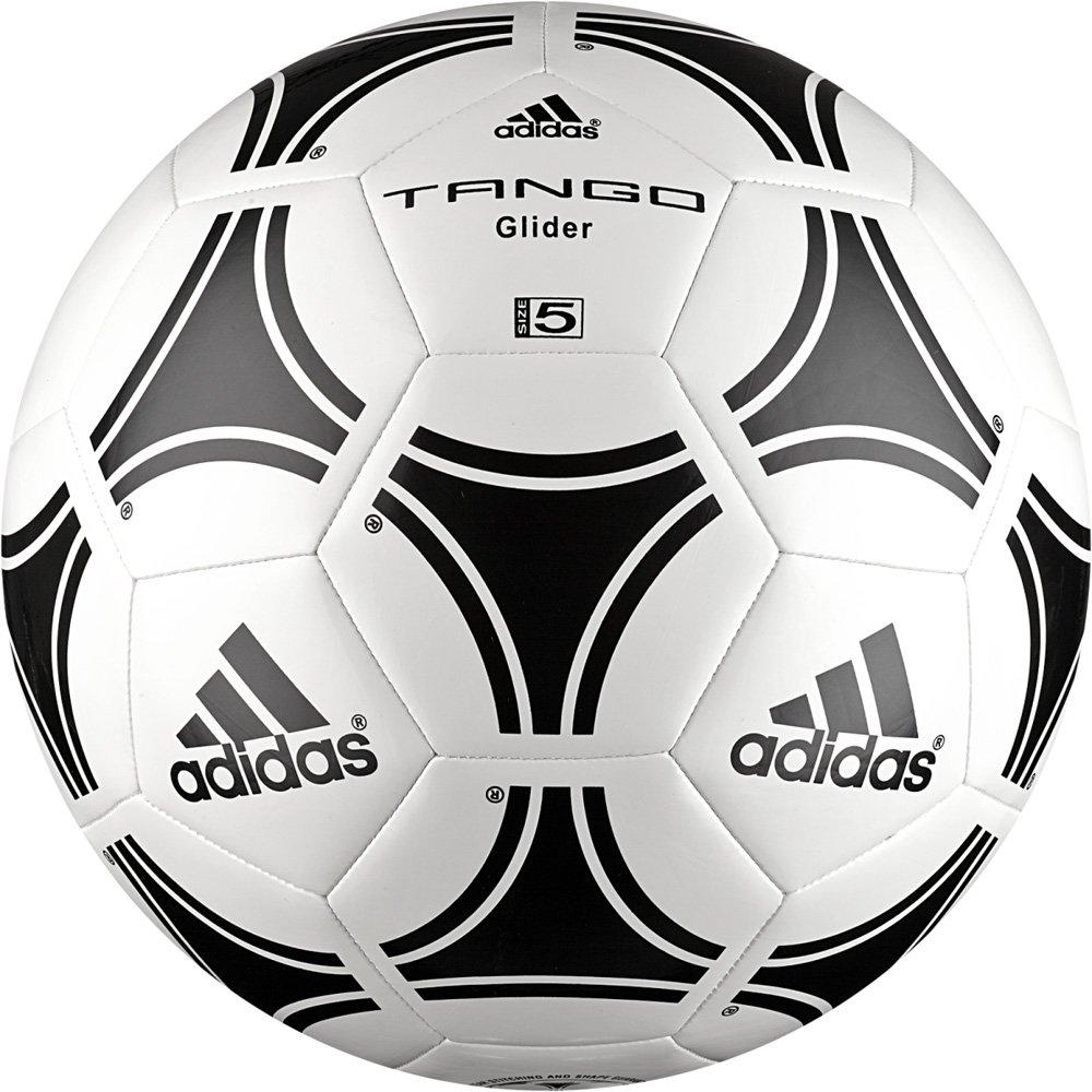 Adidas Tango Glider - Balón de fútbol, Color Blanco/Negro