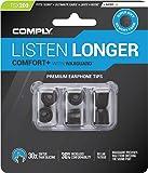 COMPLY (コンプライ) イヤホンチップ Tsx-200 ブラック Mサイズ 3ペア (並行輸入品)
