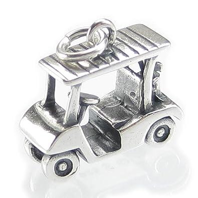 Carro de golf plata de ley Charm .925x 1charms de transporte Golf dkc91133: Amazon.es: Joyería