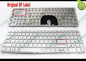 Generic US Notebook Laptop Keyboard Replacement for HP Pavilion DV6-6000 DV6-6100 DV6