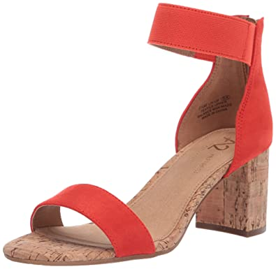 960018a1f Amazon.com: Aerosoles Women's Line Up Heeled Sandal: Shoes