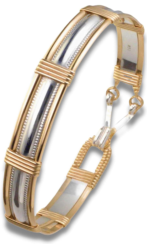smooth or twisted wire 12k gold filled or 925 silver elegant jewel gold or silver Minimalist bangle bracelet fine