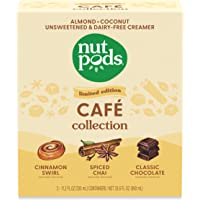 nutpods Cafe Collection, (3-Pack), Unsweetened Dairy-Free Creamer, Made from Almonds and Coconuts, Gluten Free, Non-GMO…