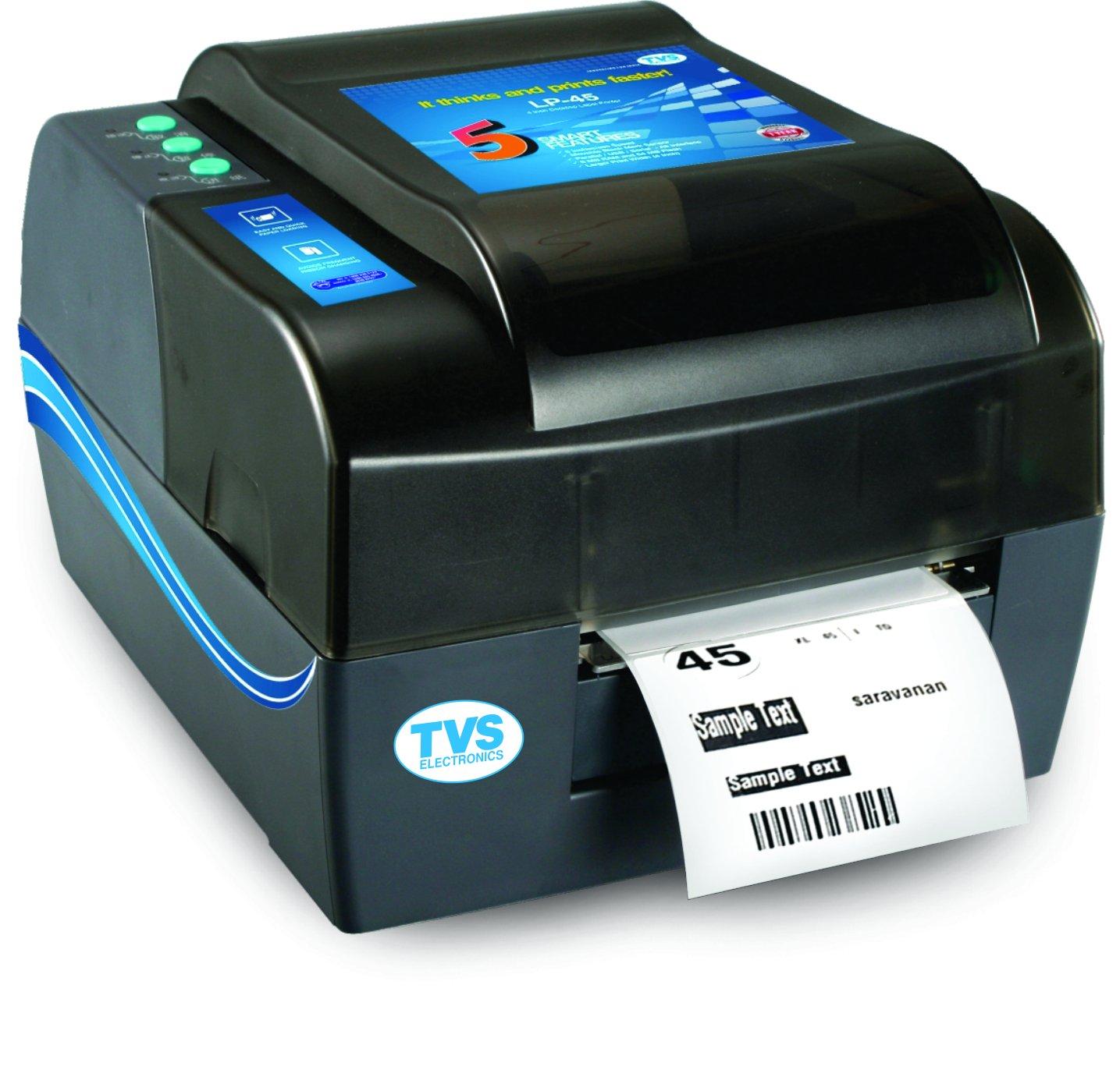 ac2bdda932a1 Tvs LP-45 Barcode Label Printer: Amazon.in: Amazon.in