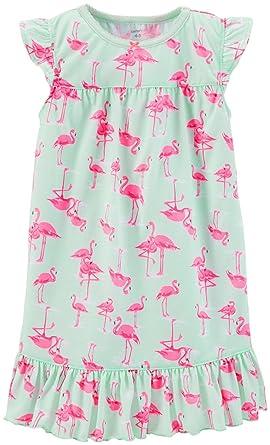 a597a4e33 Amazon.com  Carter s Little Girls  Print Nightgown (Toddler Kid ...