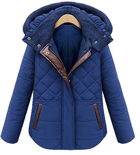 crazycatz - Chaqueta - chaqueta guateada - para mujer azul azul 42