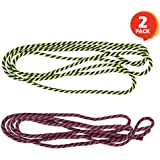 ArtCreativity 63 Inch String for Cat's Cradle Game - 2 Pieces - Long and Slightly Stretchy - Classic Indoor and Outdoor…