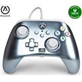 PowerA Enhanced Wired Controller for Xbox Series X S - Metallic Ice, Gamepad, Wired Video Game Controller, Gaming Controller,