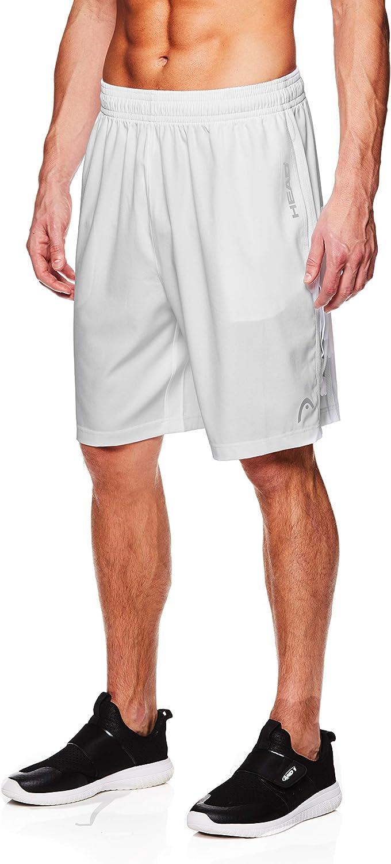 Head Short de sport tiss/é pour homme avec ceinture /élastique et cordon de serrage