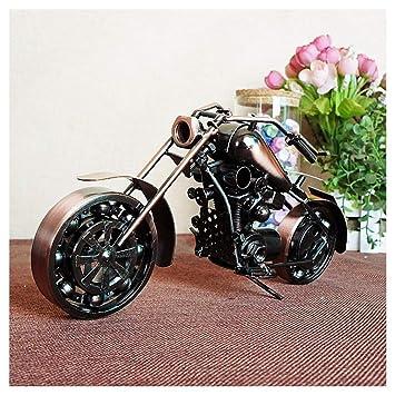 Großes 28 cm Metall Miniaturmodell Motorrad Shopper Bike