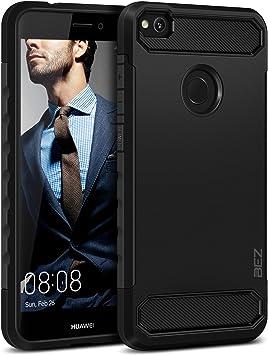 BEZ Funda Huawei P8 Lite 2017, Carcasa Compatible para Huawei P8 Lite 2017 Ultra Híbrida Gota Protección, Cover Anti-Arañazos con Absorción de Choque Resistente, Negro: Amazon.es: Electrónica