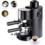 Best Choice Products 3.5 Bar 3-in-1 Coffee Maker for Cappuccino, Espresso, Latte w/Steam Wand, Washable Filter…