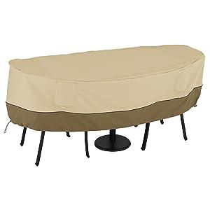 Classic Accessories Veranda Bistro Patio Table & Chairs Set Cover, Small