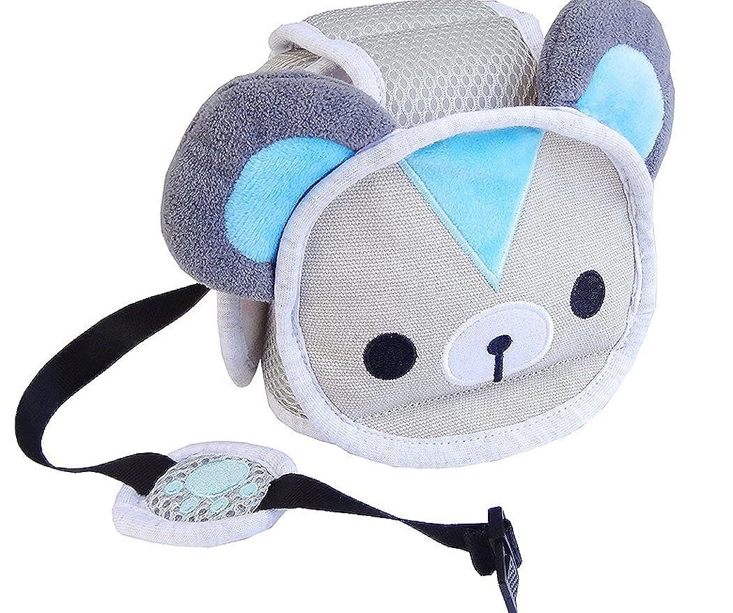 S/äugling Kleinkind Kinder Anti-Kollision Kopfschutzkappe Verstellbare Geschirre Kopfschutz Keine Beulen Kopfpolster Schutzhelm Hillento Baby Schutzhelm