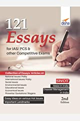 121 Essays for IAS/ PCS & other Competitive Exams Paperback