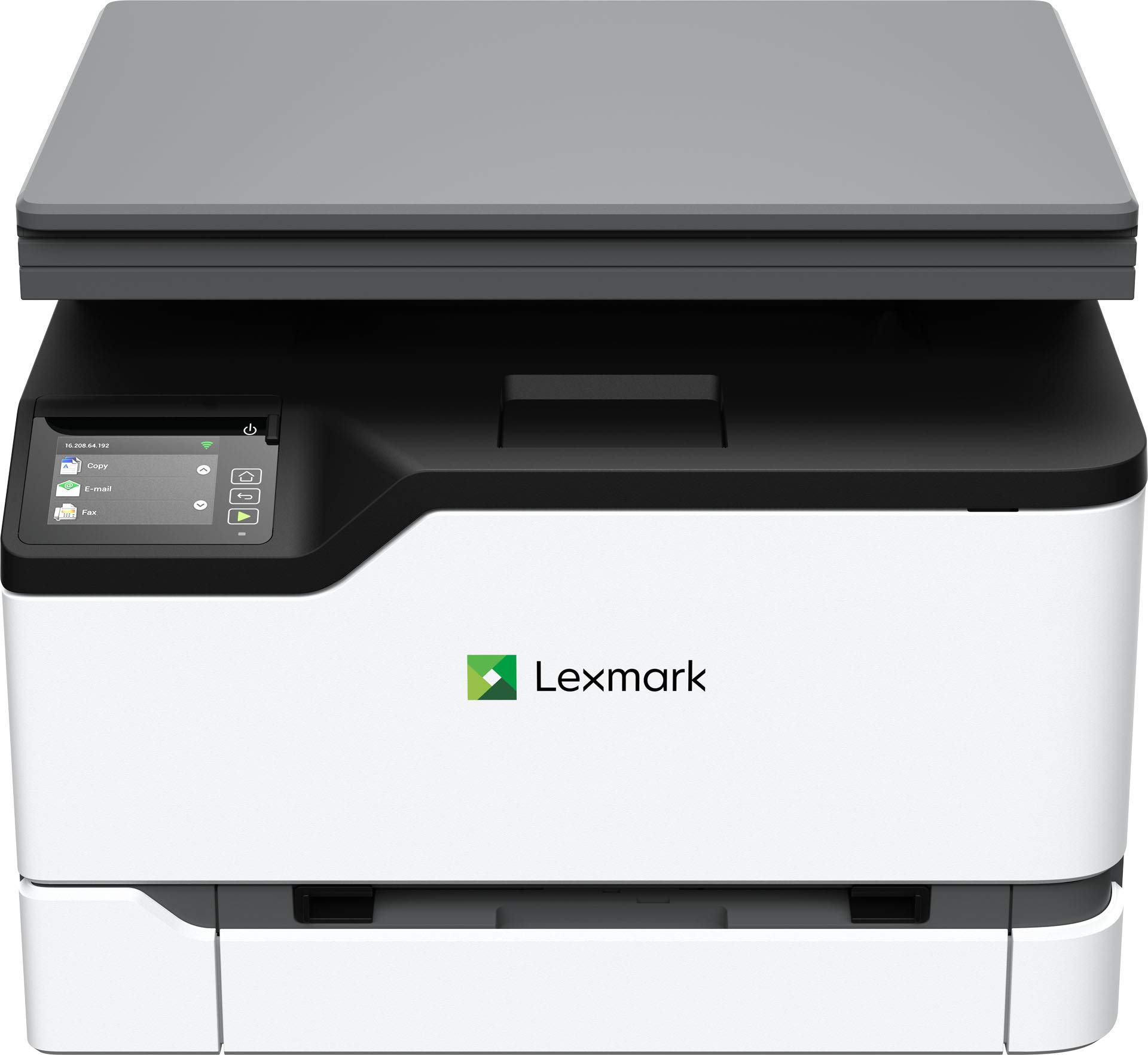 Lexmark MC3224dwe Color Multifunction Laser Printer with Print, Copy, Scan, and Wireless Capabilities, Two-Sided Printing with Full-Spectrum Security and Prints Up to 24 ppm (40N9040) by Lexmark