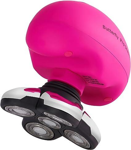 Butterfly Pro Afeitadora Eléctrica para Mujer Afeitadora Rotativa ...