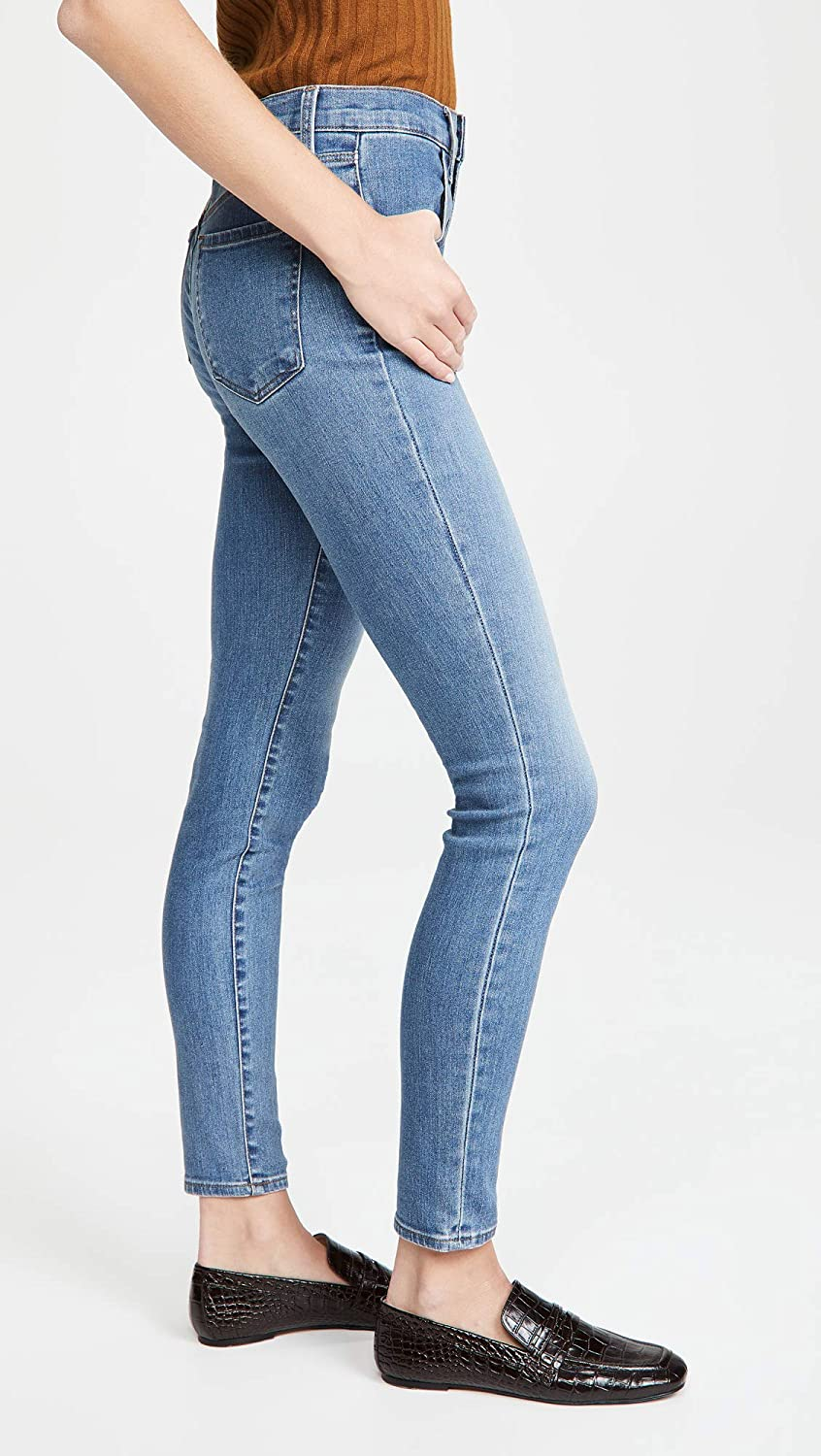 """Wax Jean Skinny Push-Up /""""Butt I Love You/"""" High Rise Stacked Waist Band Jeans"""