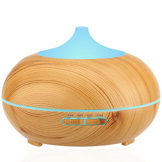 Wood Base Aromatherapy Diffuser