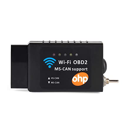OHP WiFi FORScan OBD2 Adapter ELM327 Diagnostic Scan Tool for iOS Windows  Android, F150 F250 F350 Explorer Ranger Fusion Kuga Ford Cars & Light  Trucks