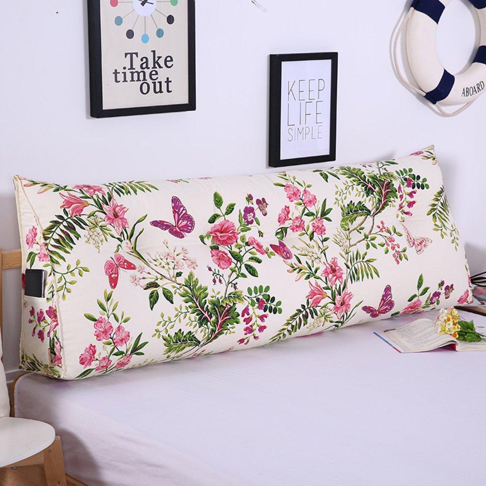 JGXVUYKDFV polsterung aus dem Bett doppel-Schlafzimmer Grosse rückenlehne Tatami Bett rückenlehne Kissen Taille-Kissen-B Durchmesser180cm(71inch)