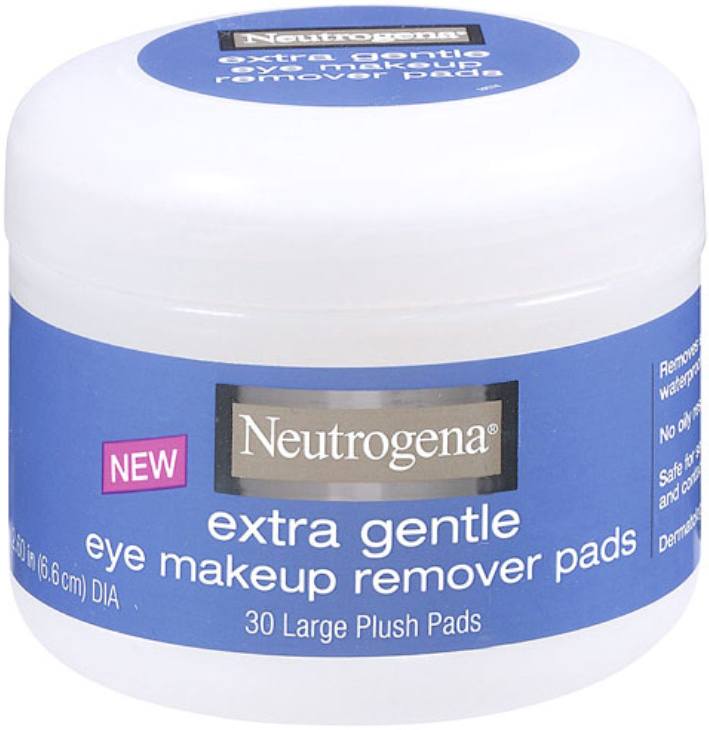 Neutrogena Deep Clean Makeup Removers, Extra Gentle Makeup Remover Pads, 30 Count (Pack of 2) by Neutrogena