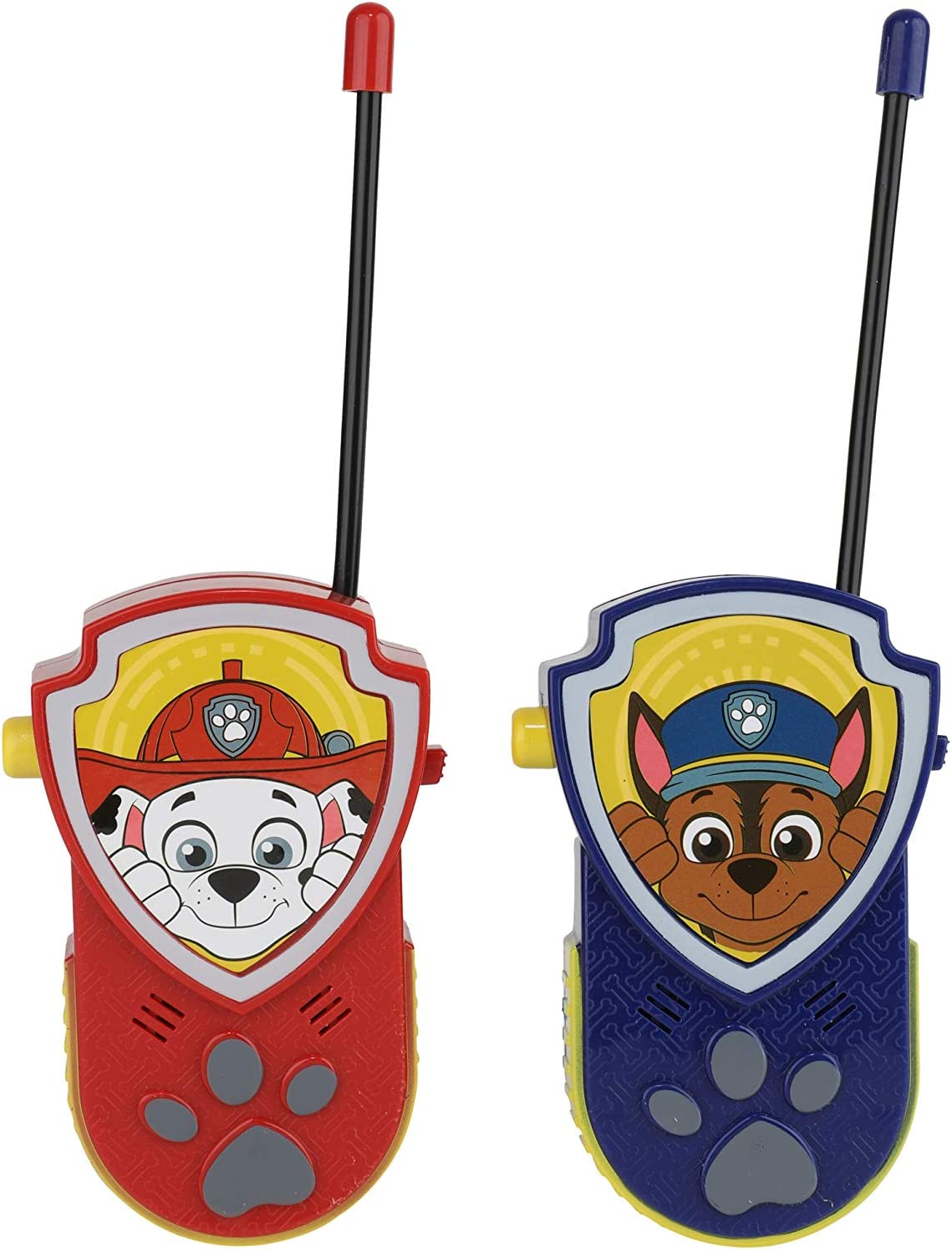 Wonder Woman Justic League Walkie Talkies for Indoor and Outdoor use Includes Belt Clip by Sakar 1000 Feet Range