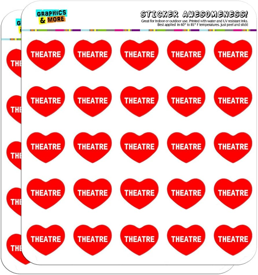 "Drama Comedy Tragedy Masks Theater 0.5/"" Scrapbooking Crafting Stickers"