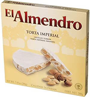 El Almendro Torta Imperial with Almonds and Honey 7 Oz (200 G)