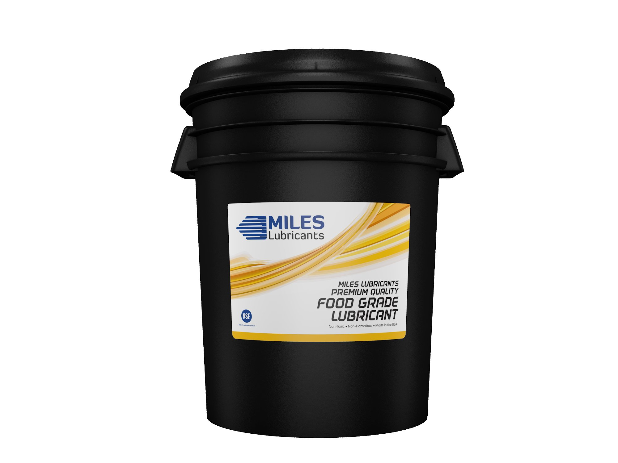 Miles Advanced Fg Comp Oil ISO 46 Food Grade Synthetic Rotary Compressor Nsf H1 Regirstered Fluid 5 Gallon Pail