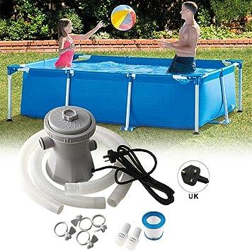 Azonesyeo - Juego de bomba y filtro de piscina, depuradora para ...