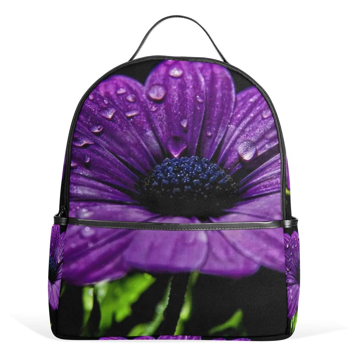 4eae4de36880 Amazon.com: Backpack Purple Daisy Best Womens Laptop Backpacks ...