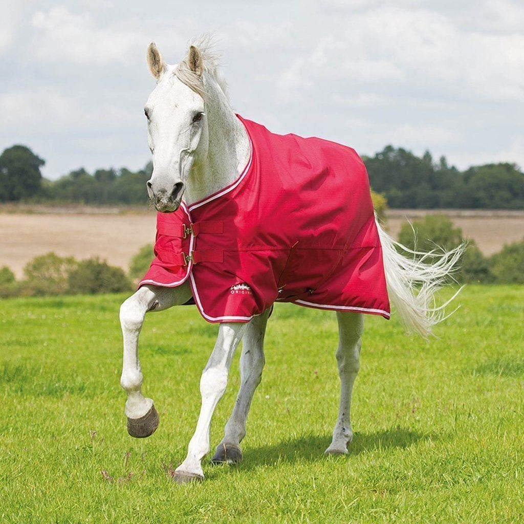 Red White 75 Red White 75 Shires Original Airdry 100g Turnout Blanket