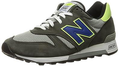 1e553721c72 New Balance Men's 1300 Fashion Sneaker-Enduring Purpose-Made USA, Black, 6