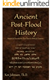Ancient Post-Flood History (English Edition)