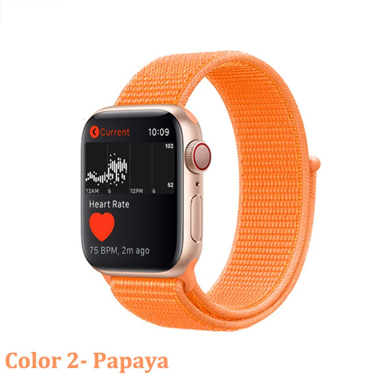 Amazon.com: Strap for Watch Band 42mm 38mm 4 3 Correa iwatch ...