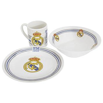 Real Madrid Set Desayuno Ceramica (CYP Imports GS-21-RM): Amazon.es: Juguetes y juegos