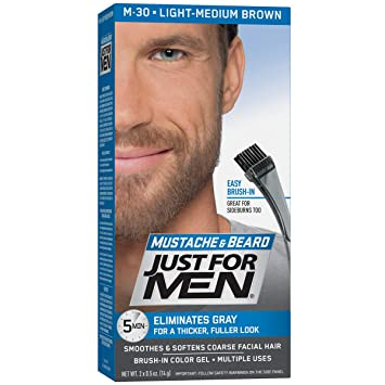 Awesome Amazon Com Just For Men Mustache Beard Beard Coloring For Gray Schematic Wiring Diagrams Amerangerunnerswayorg