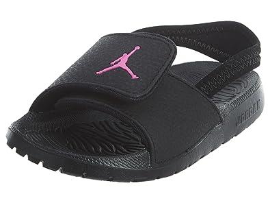 0fa21f97074 Jordan Toddler Hydro 6 GT Sandal Black Hyper Pink Size 6