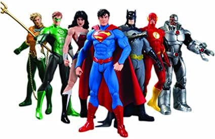 DC ICONS REBIRTH JUSTICE LEAGUE SUPERMAN ACTION FIGURE DC COLLECTIB NO BLISTER