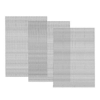 Amazon.com: Dayree - 3 piezas de malla de alambre tejida de ...