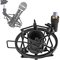 SUNMON ATR2100X-USB Mic Shock Mount Holder for Reduces Vibration and Noise, Suitable for Audio-Technica ATR2100X…