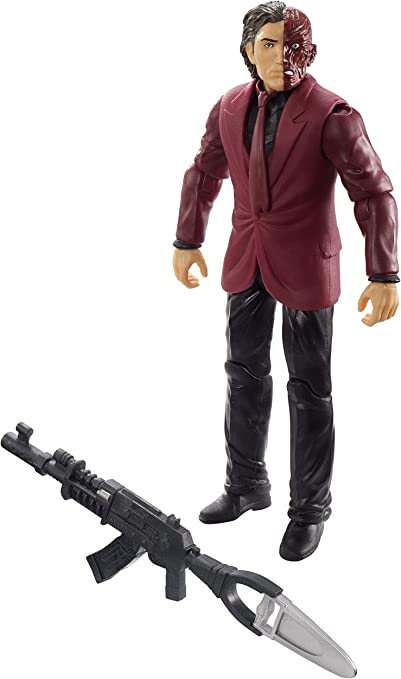 DC Batman Missions Two-Face 6 Inch Action Figure NEW Toys Collectibles Mattel